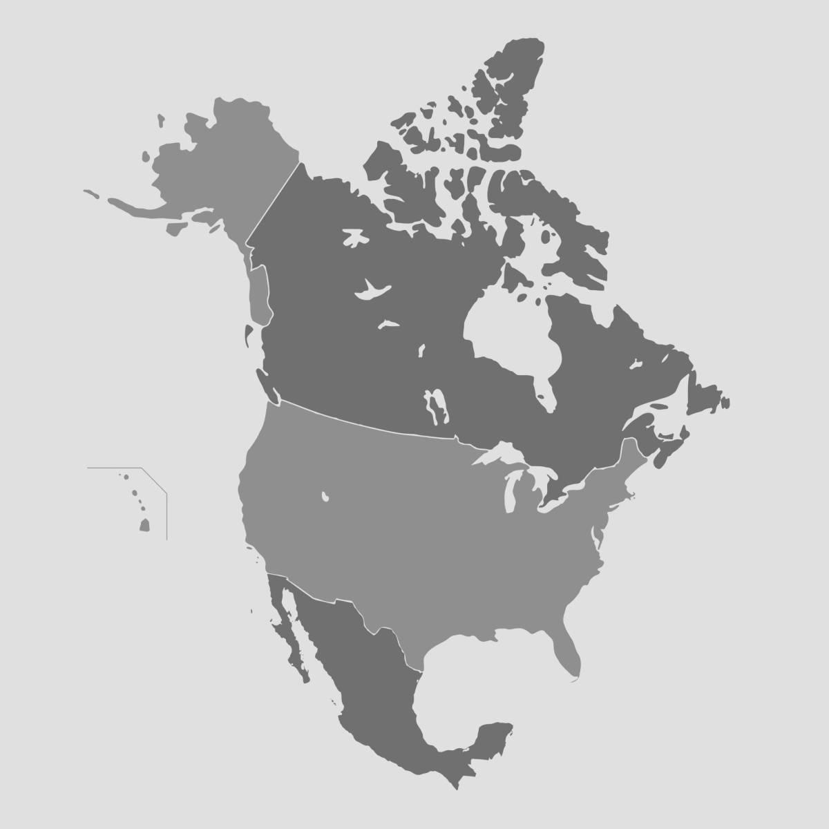 map-north-america