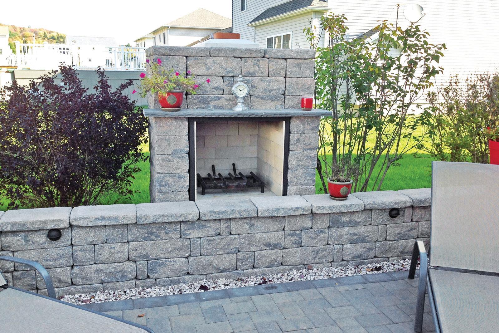 StoneLedge fire pit