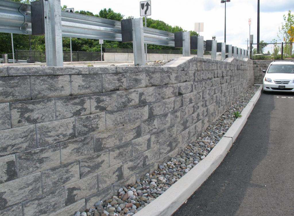 cornerstone block retaining wall New Jersey