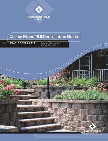 cornerstone 100 diy retaining wall