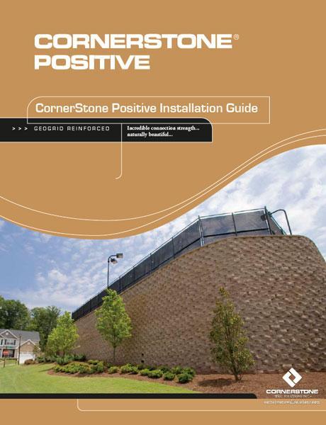 CornerStone Positive precast concrete