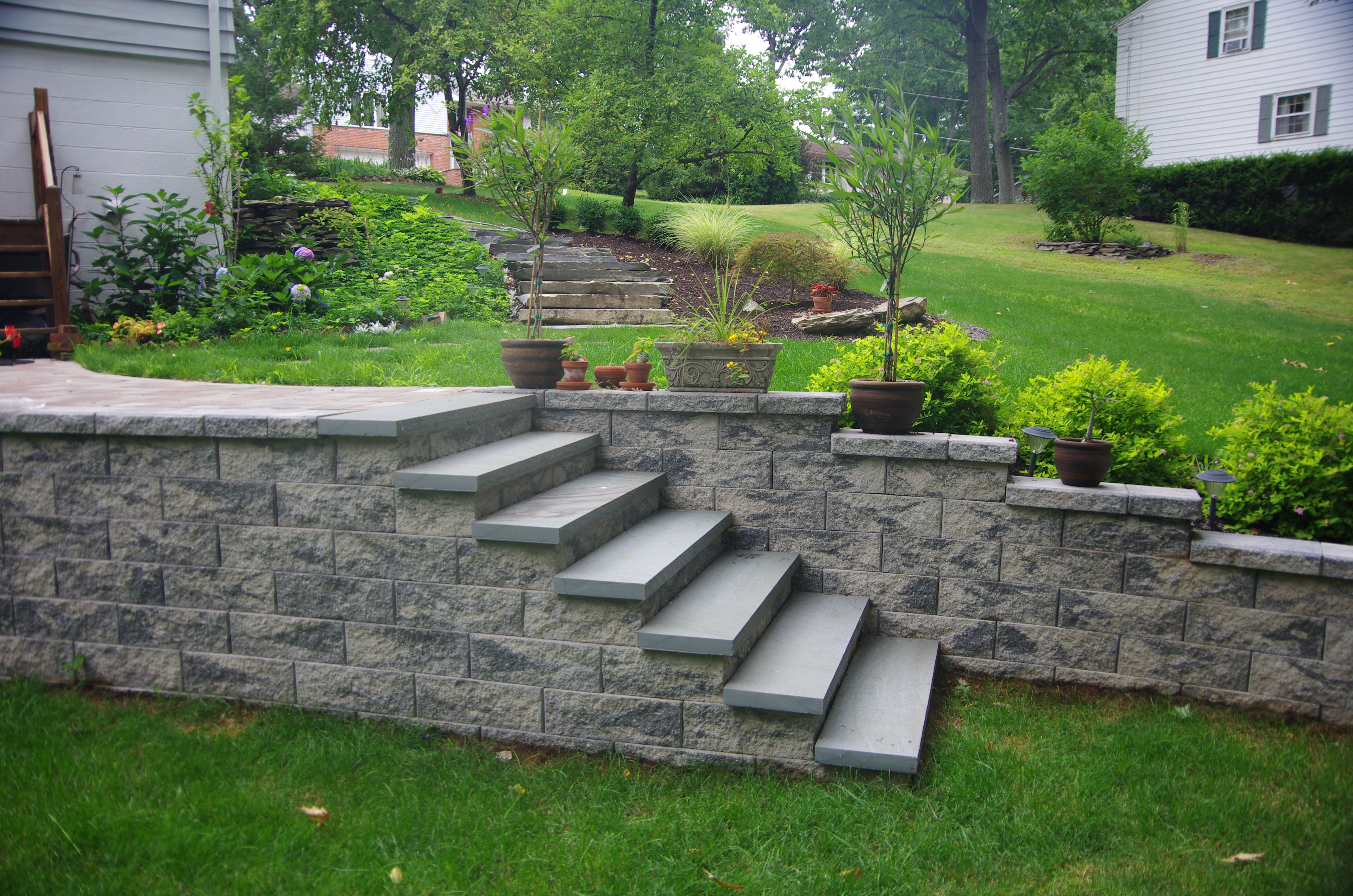 stairs u0026 steps design ideas cornerstone wall solutions