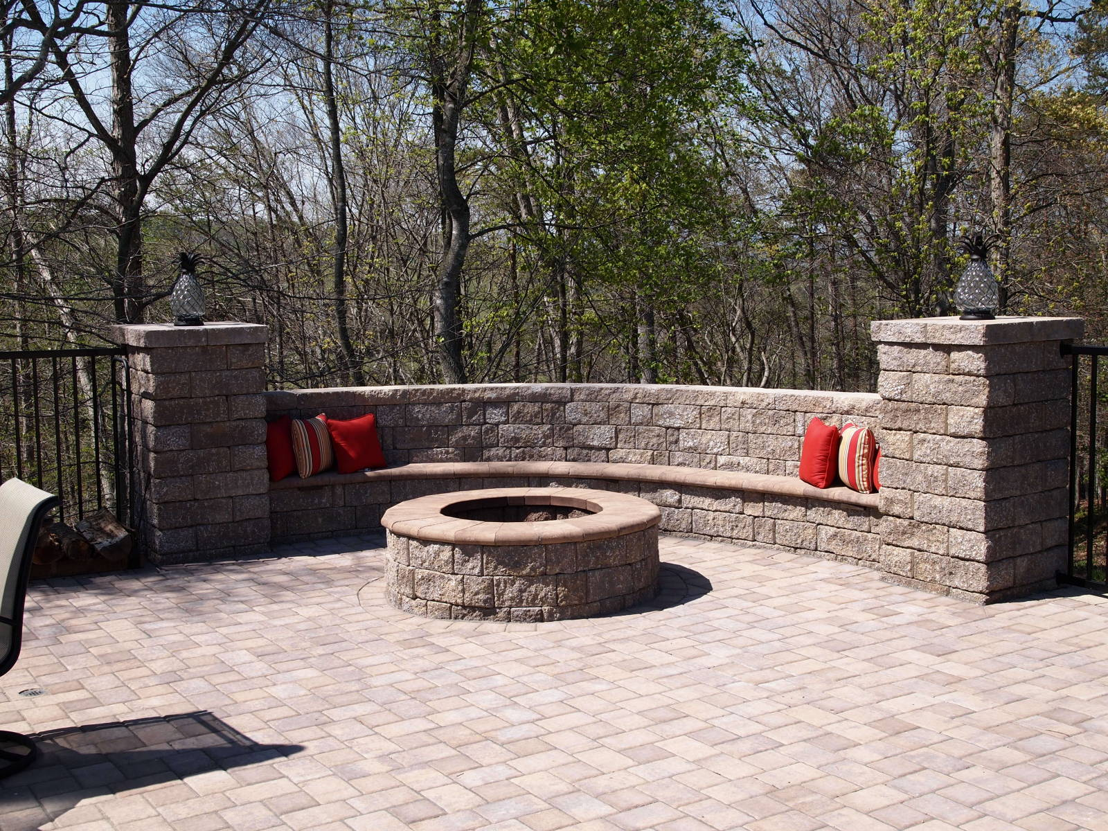 Backyard Patios Design Ideas with StoneLedge