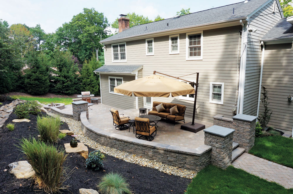 Backyard Patios Design Ideas Cornerstone Wall Solutions