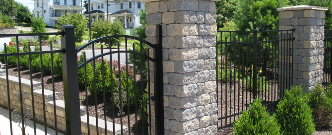 StoneLedge Retaining wall pier pillars