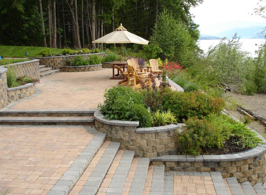 Garden Wall Scape Planter
