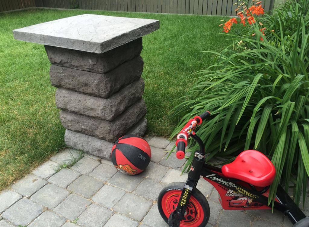 StoneMatrix Pillar