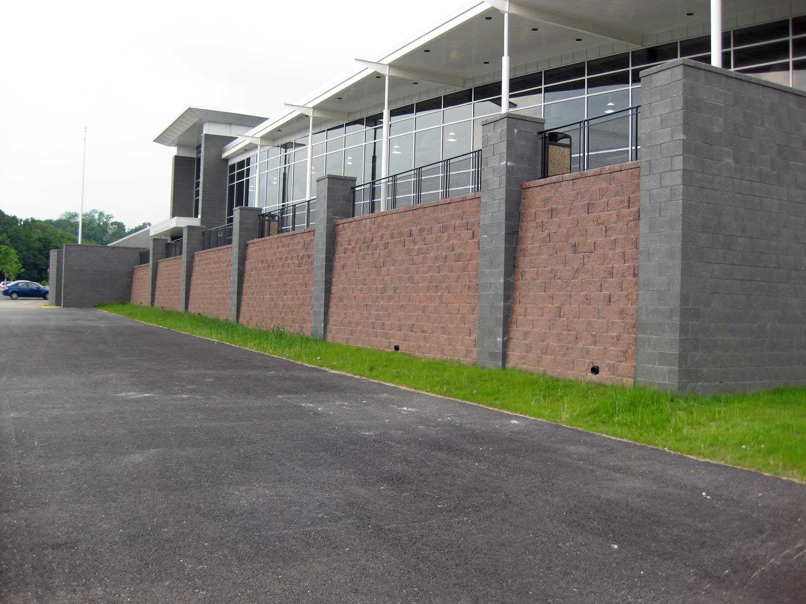 cornerstone block retaining wall