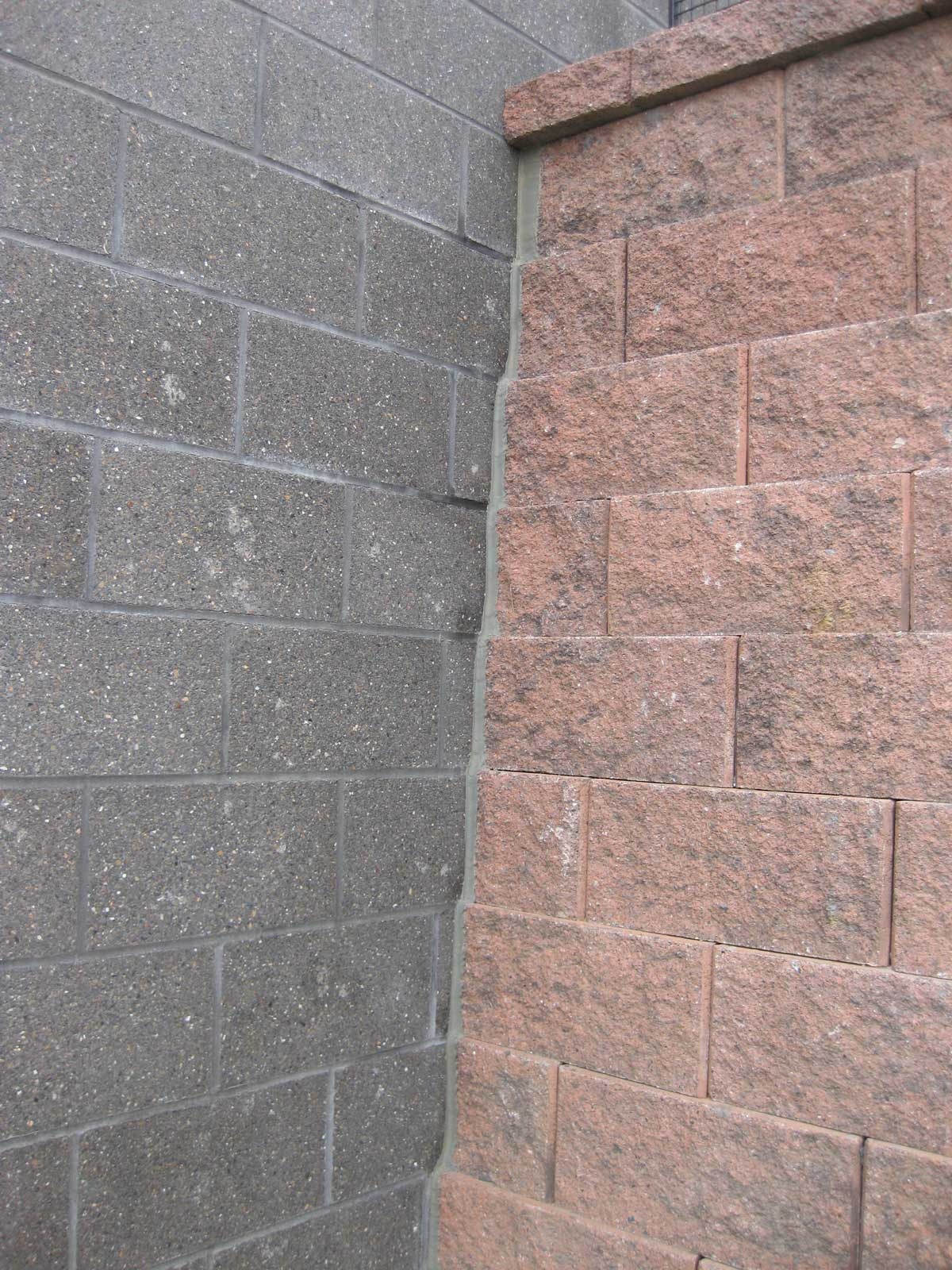 cornerstone retaining wall corner