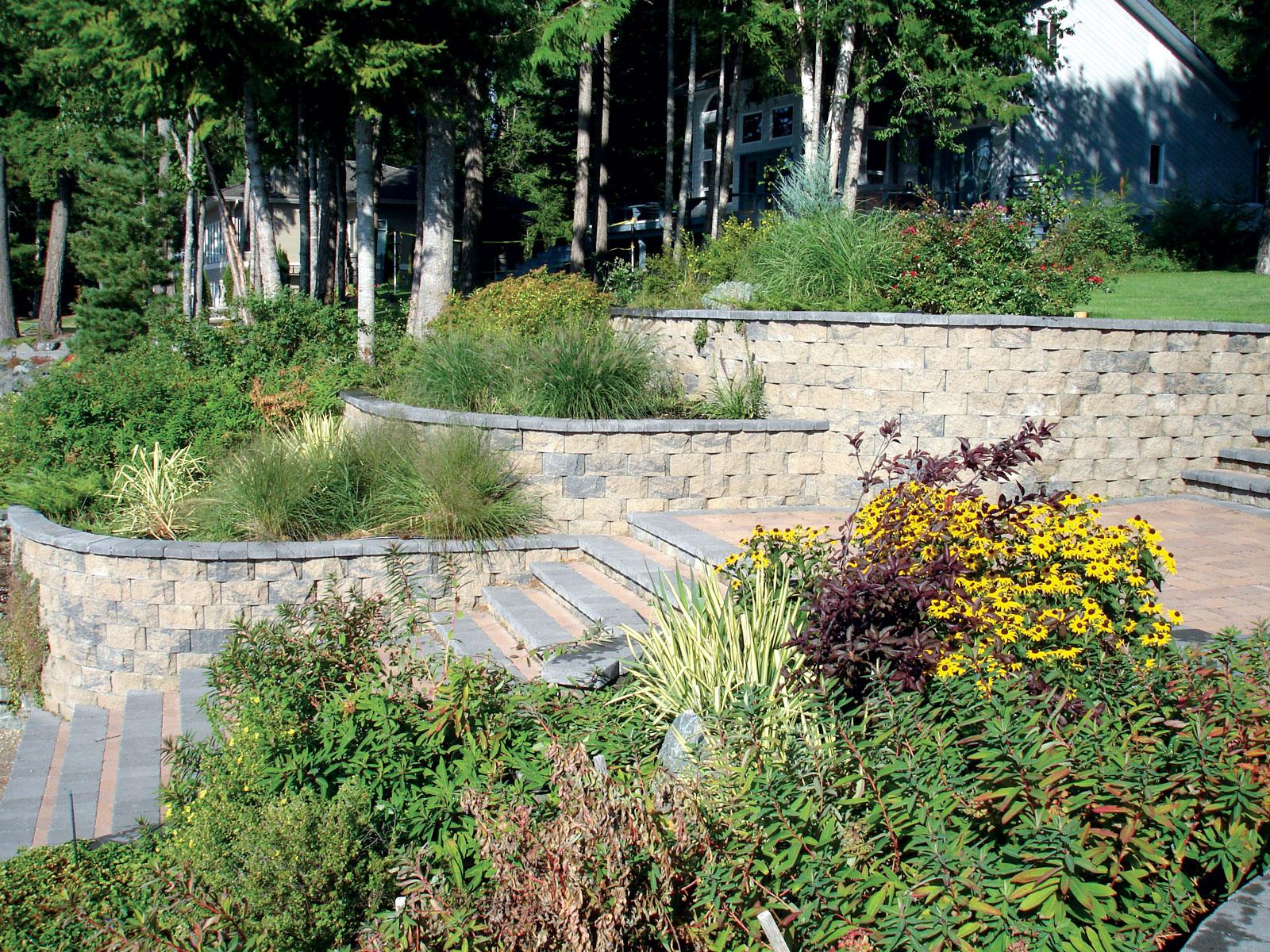 garden wallscape garden wall ideas