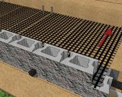 cornerstone 100 geogrid retaining wall
