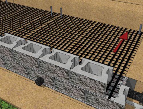 CornerStone 100 Geogrid Wall