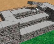 cornerstone 100 stone stairs