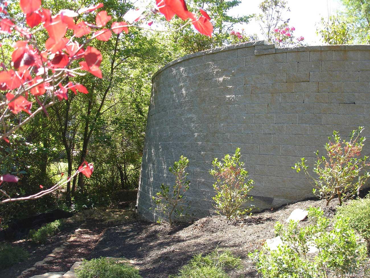 CornerStone retaining wall blocks Georgia