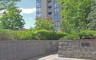Green Roof Wall Retaining Wall System Cornerstone Retaining Walls