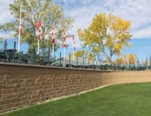 Spruce Meadows Retaining Walls