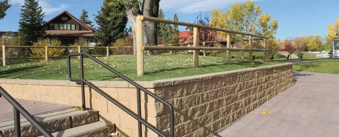 Cornerstone-block-Retaining-Wall