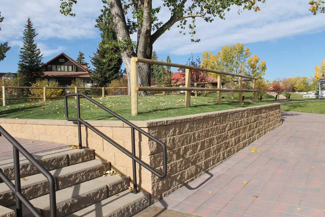 Cornerstone-block-Retaining-Wall