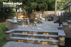 Landscape Stairs Using StoneLedge Block