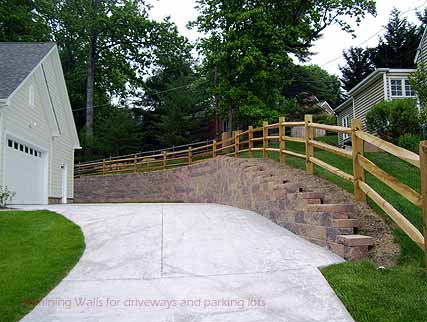 retaining walls for your driveway