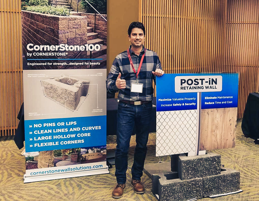 POST-iN Retaining Wall Product Support