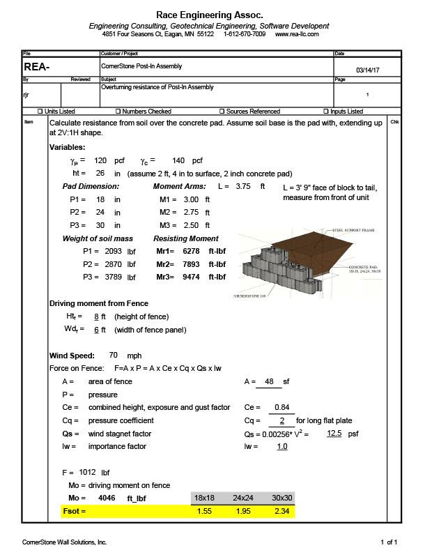POST-iN Engineering Specs