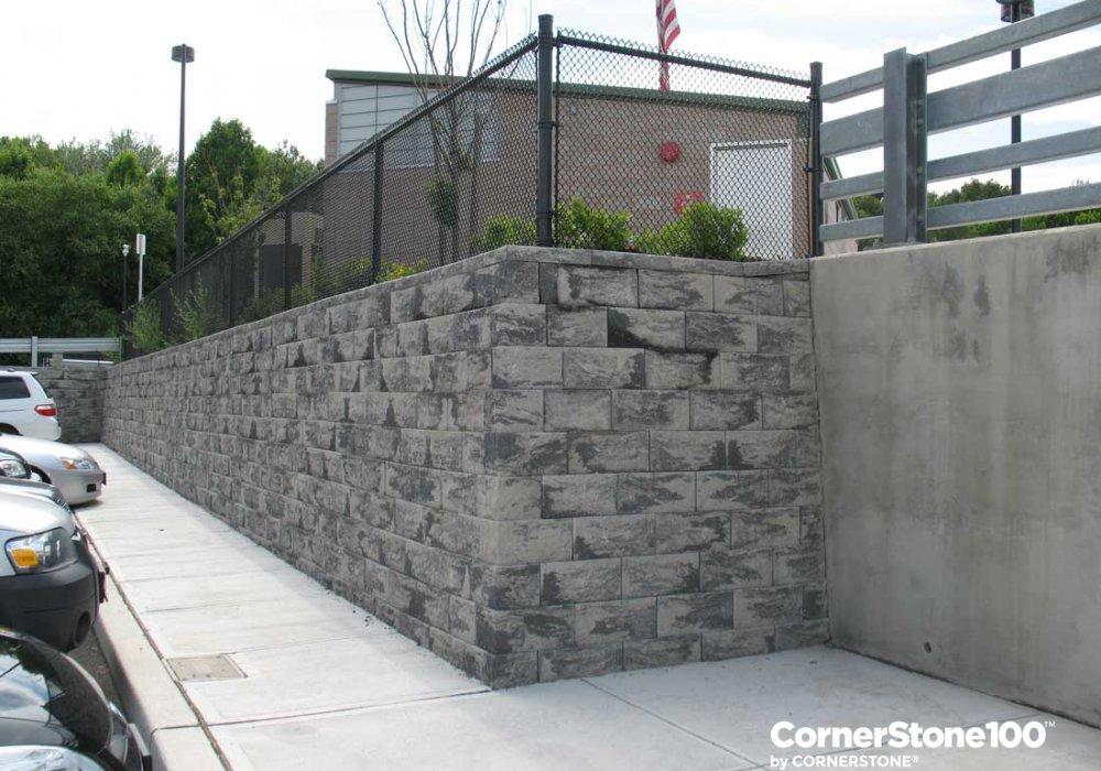 Cornerstone-retaining-wall-block-corner-view---new-jersey-transit-wayne-route-23