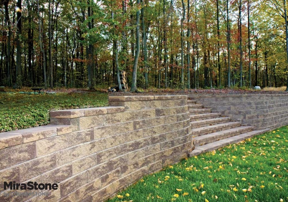 MiraStone-Retaining-Wall-by-LibertyStone-landscaped