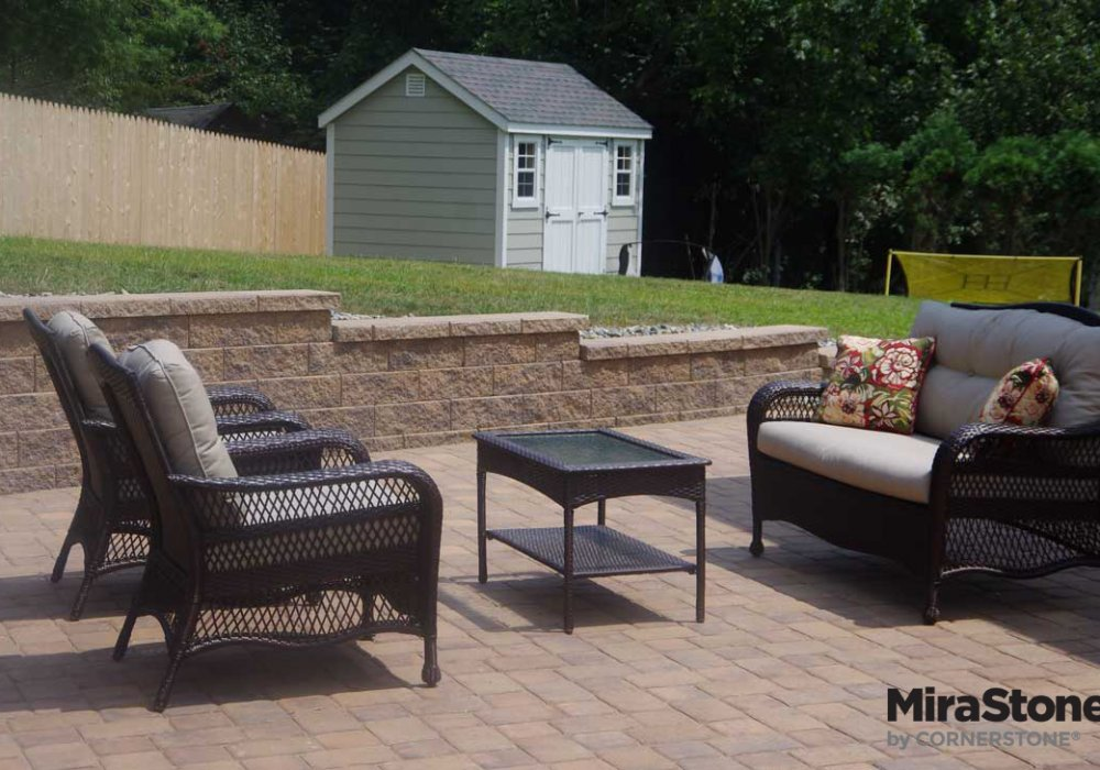 MiraStone-retaining wall block by libertyStone