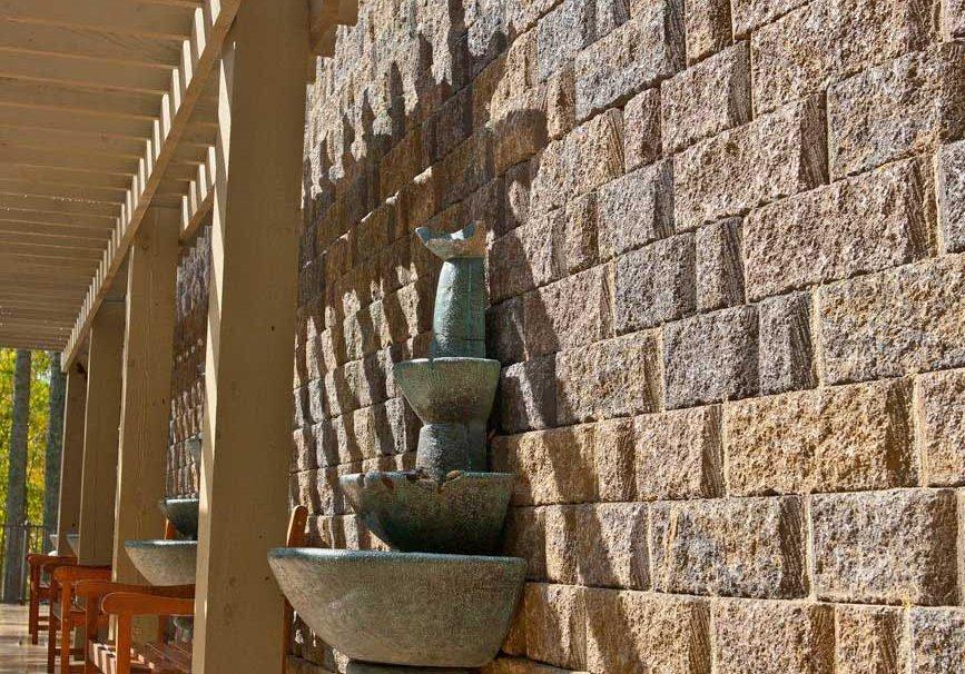Mirastone Random Retaining Wall Boxley Hardscapes tall