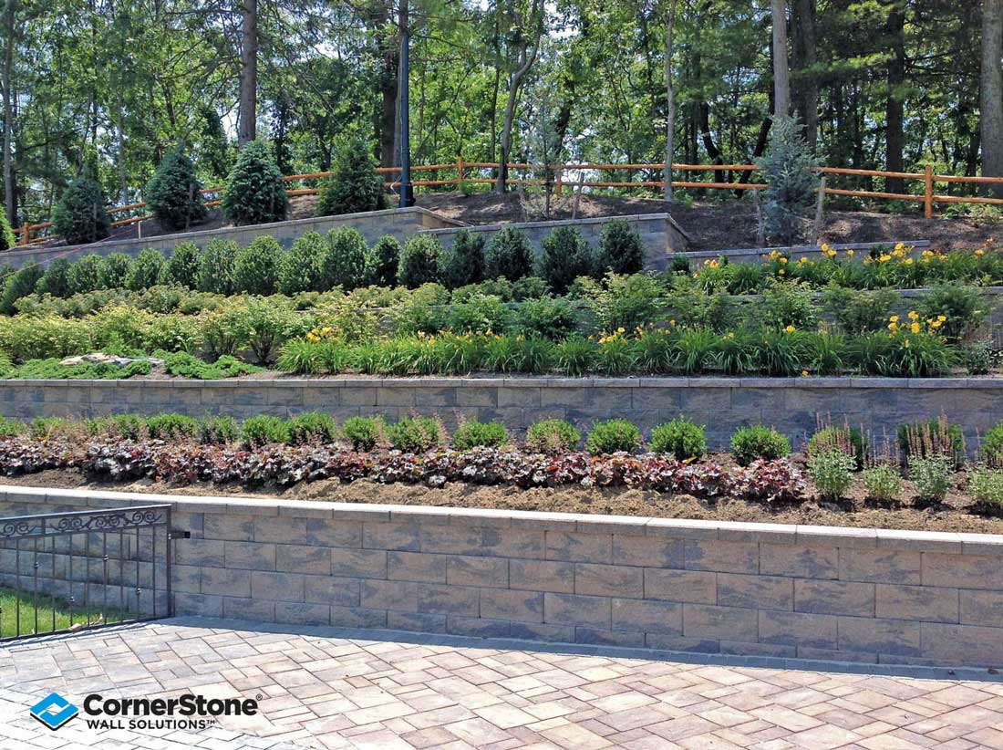 Terraced Retaining Walls