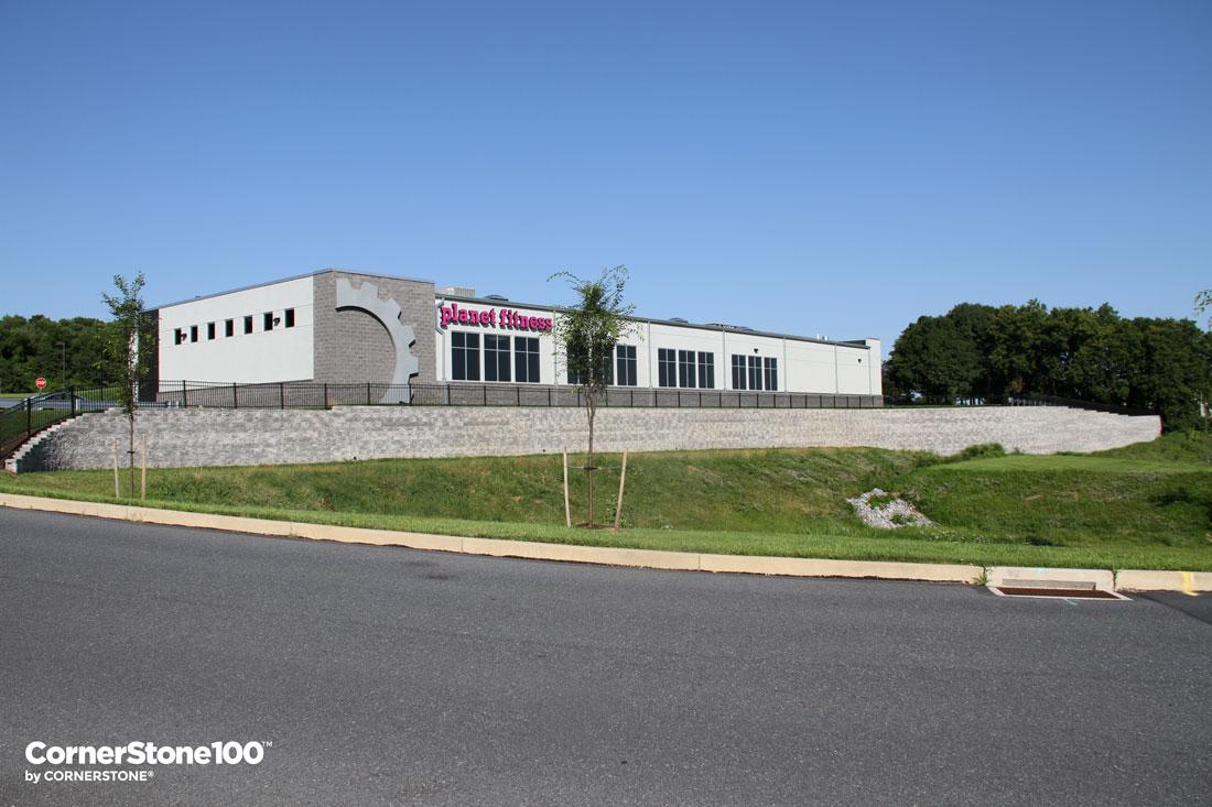 Retaining Walls Harrisburg Pennsylvania Planet Fitness