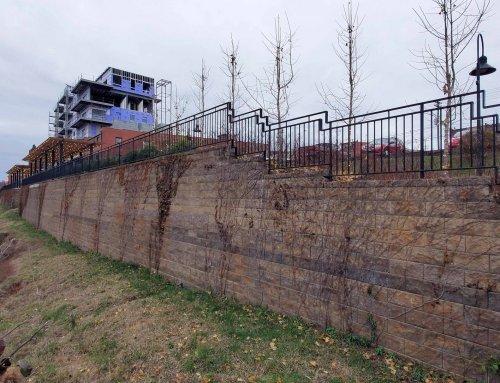 Lynchburg Virginia Retaining Walls Bluff Walks