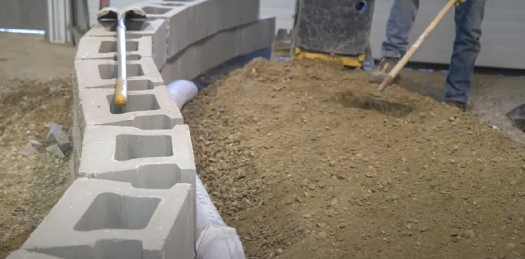 Retaining Wall Installation Video