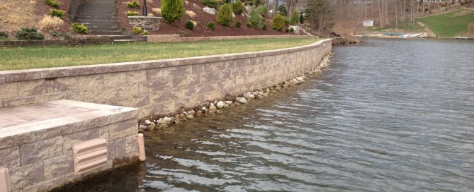 Waterfront Retaining Wall Property