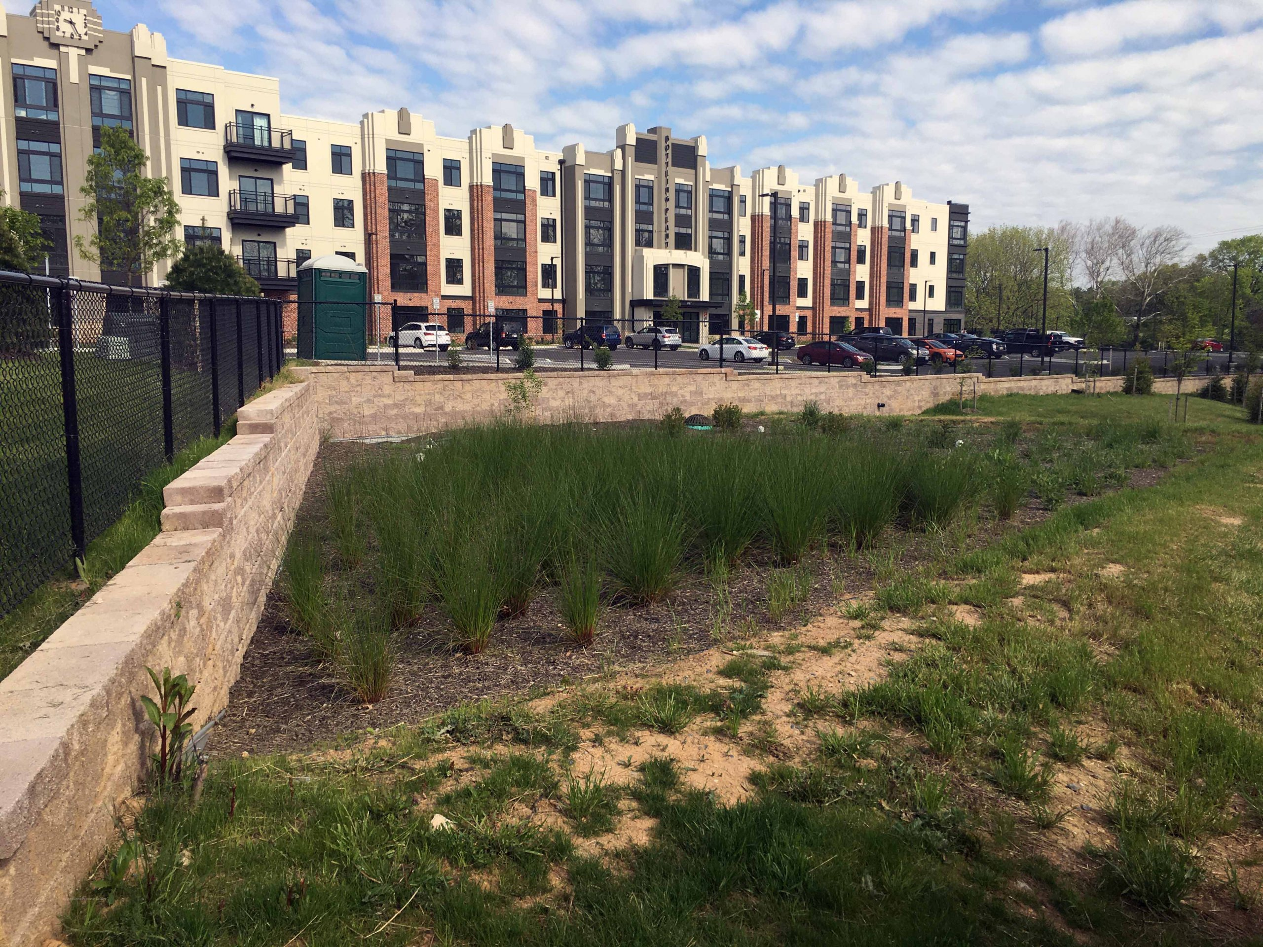 CornerStone Bioretention Retaining Wall - Frederick, Maryland