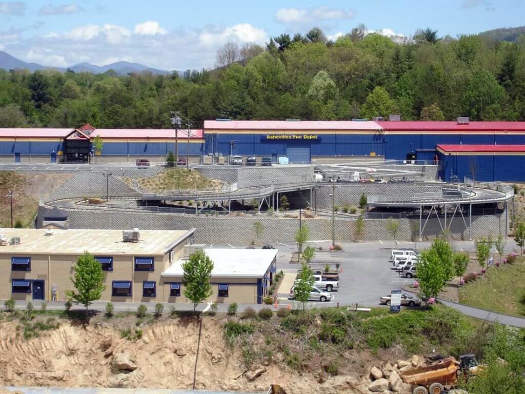 CornerStone 100 Retaining Walls - Fun Depot in North Carolina