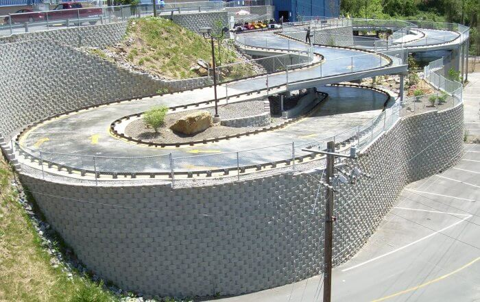 CornerStone Tall Retaining Wall Fun Depot