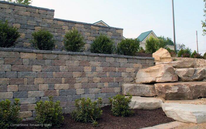 Terrace Retaining Walls for Dream Backyard