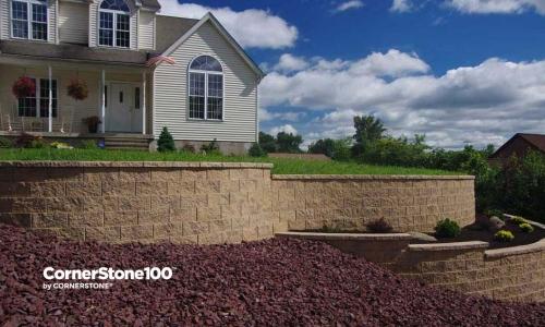 CornerStone Retaining Walls for Extending Yards
