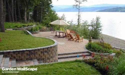 Extend Your Yard Cut Garden WallScape Block