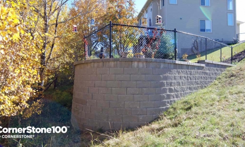 Extend Your Yard Fill with Cornerstone Blocks