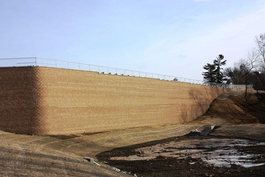 Tall CornerStone Retaining Walls