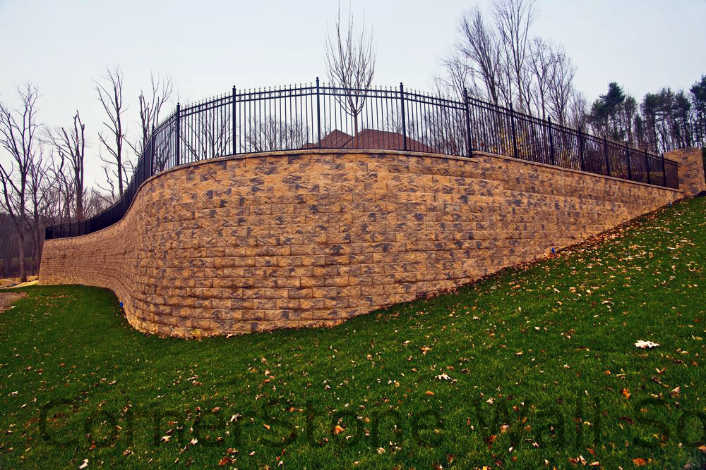 CornerStone Elevated Retaining Wall in New Jersey