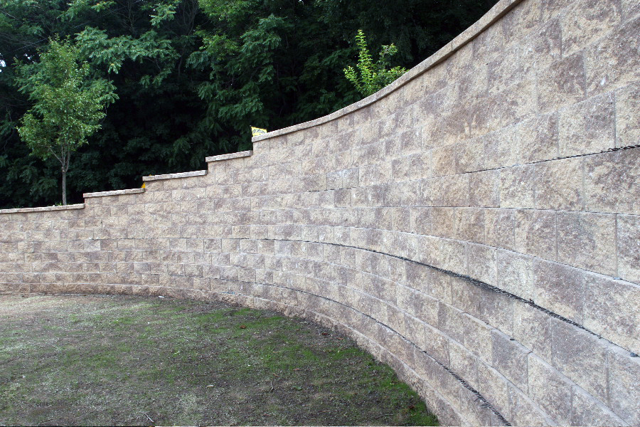 CornerStone Geogrid Retaining Wall in New Jersey