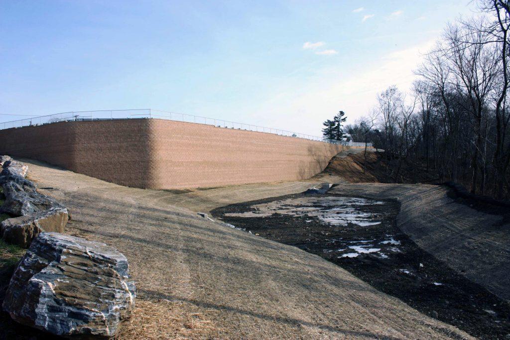 CornerStone Retaining Wall Along Conestoga River, Lancaster, Pennsylvania