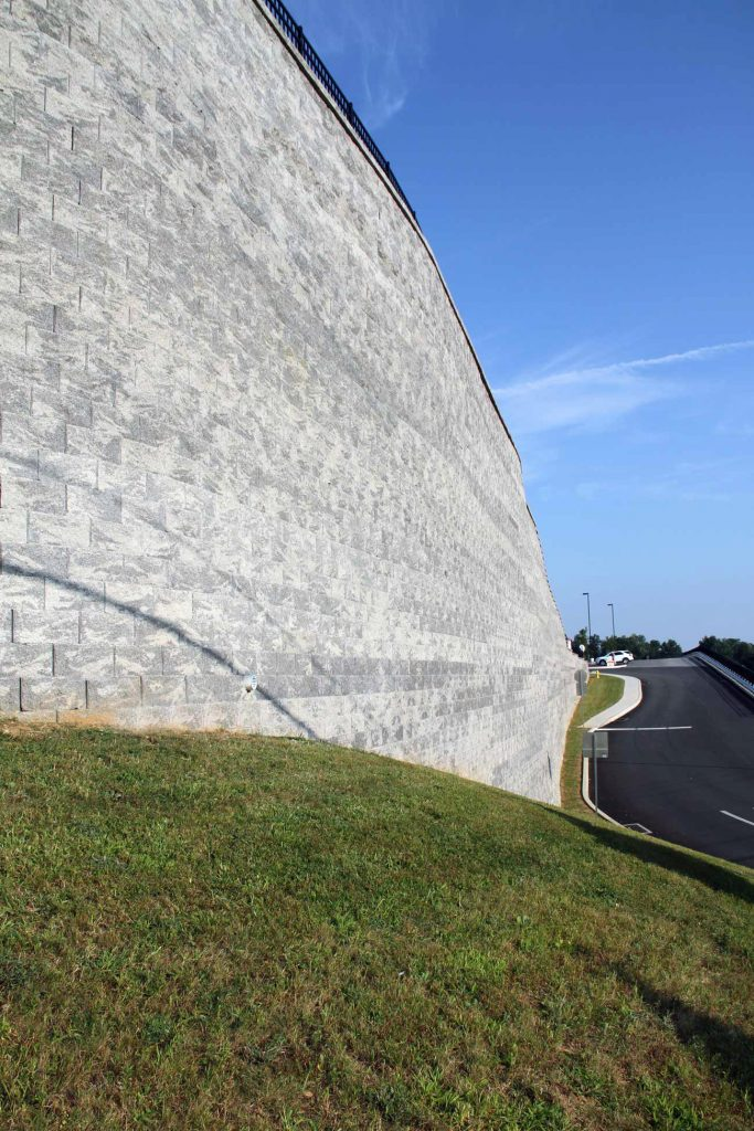 CornerStone Retaining Wall at Shrewsbury Commons, Pennsylvania