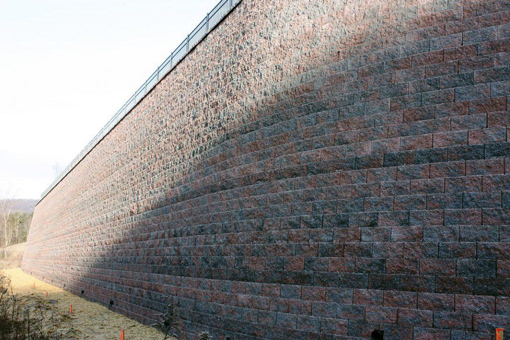 CornerStone Retaining Wall in Hampden Township, PA.