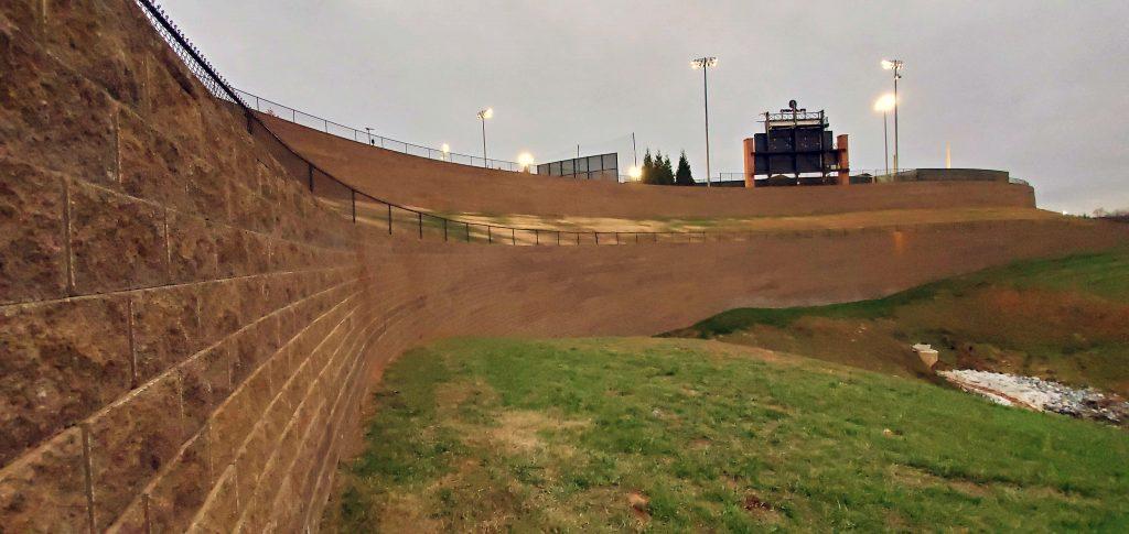 Liberty University Baseball Field - CornerStone Retaining Wall