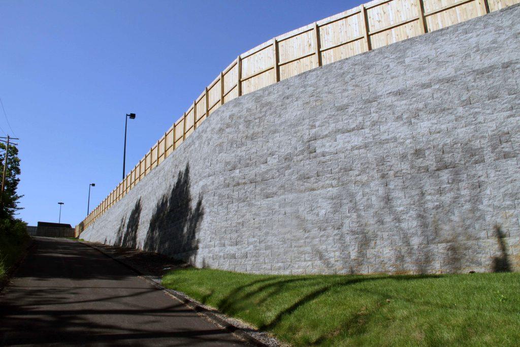North Carolina CornerStone Retaining Wall